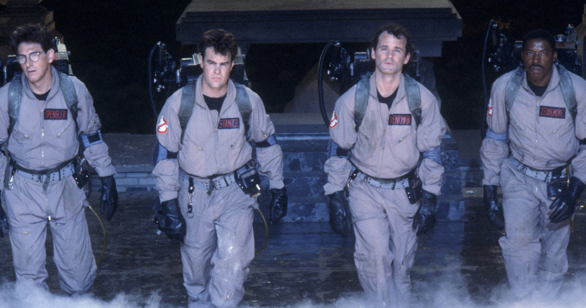 LOS CAZAFANTASMAS / Ghostbusters | Programación completa | Fancine ...